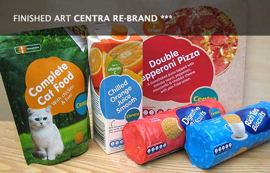 Centra Product rebranding